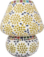 Lime Light Mosaic Decoratives LL08 Table Lamp (22.86 Cm, Multicolor)