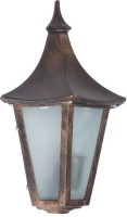 Superscape Exterior Traditional WL1003 Night Lamp (33 Cm, Brown)