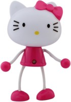 Tootpado Automatic On/Off LED Sensor Cartoon Lights Bed - Hello Kitty Night Lamp (9 Cm, Pink)