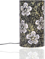 Height Of Designs Yellow Flower Table Lamp (21.59 Cm, Yellow)