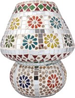 Lime Light Mosaic Decoratives LL10 Table Lamp (22.86 Cm, Multicolor)