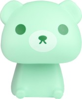 Ek Retail Shop Bear Shape Study Lamp (22 Cm, Green)