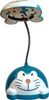 Homekitchen99 Doremon Led Mini - Assorted Colors Table Lamp (11 Cm, Blue, White)