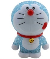 AV Shop Doraemon Figures LED Color Changing Night Light Lamp Table Lamp (10 Cm, Blue)