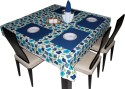 Hues & Vibes Classy Patterns Table Linen Set - Pack Of 9