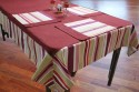 Dekor World Fun With Stripes Table Linen Set - Pack Of 5 - TLSEYAW9RDFRD3QG