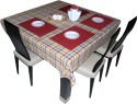 Hues & Vibes Classy Patterns Table Linen Set - Pack Of 9 - TLSDYZYEGDBWRZWJ