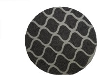 Belle Maison Round Cotton Placemat Pack Of 4 Table Placemat Grey, White, Cotton