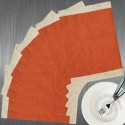 Dekor World Combination Of Colors Table Placemat - Pack Of 6 - TPMDSWGCDP6VFD3H