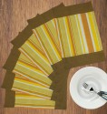 Dekor World World Of Stripe Table Placemat - Pack Of 6 - TPMDYHV9N5Q9XHHC