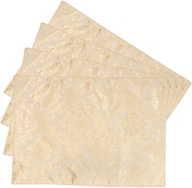 Zaffre's Rectangular Pack of 4 Table Placemat