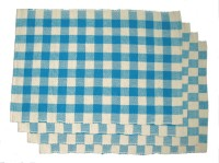 Rhapsody Decor Vibrant Squares Table Placemat (Pack Of 4)