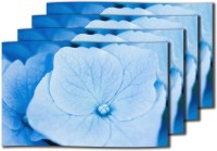 MeSleep Big Blue Flower Table Placemat (Pack Of 4)