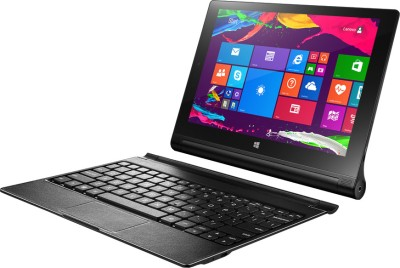 Lenovo Yoga 2 Windows Tablet 10.1 inch with Built-in Keyboard