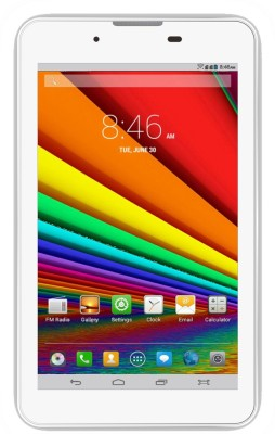 Vox 17.7cm Dual Sim 3G Quad Core HD Tablet 2+5 MP Camera Android 8 GB available at Flipkart for Rs.4999