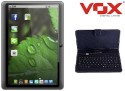 Vox V-93 Dual Sim Calling Tablet + Keyboard (Black, 4 GB, Three G Via Dongle)
