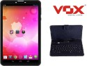 Vox V102 Dual Sim Calling Tablet + Keyboard (Black, 4 GB, Three G Via Dongle)