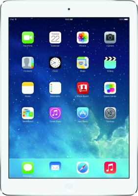 View Apple 16 GB iPad Air with Wi-Fi Tablet Note Price Online(Apple)