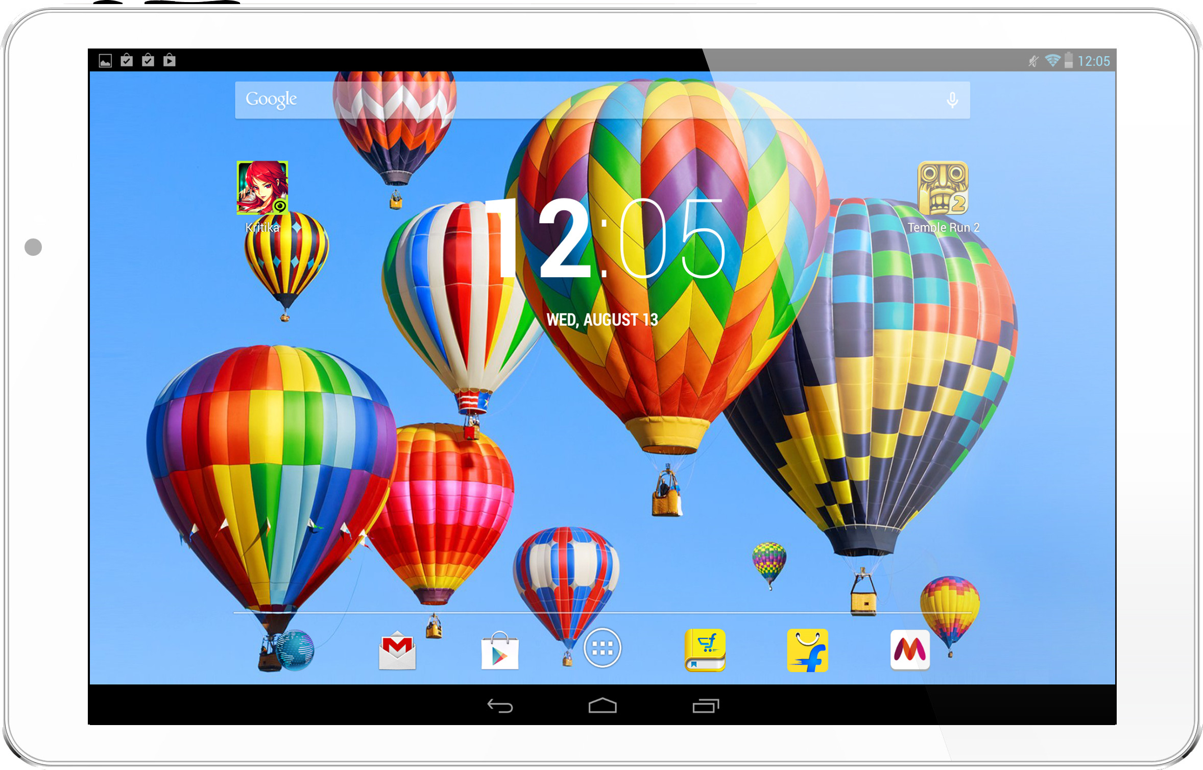 Digiflip Pro XT901 Tablet White, 16 GB, Wi-Fi Only
