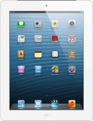 View Apple 64GB iPad with Retina Display and Wi-Fi Cellular (4th Generation) Tablet Note Price Online(Apple)