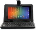 Vox V-105 Tablet + Keyboard (Black & Silver, 4 GB, 3G)