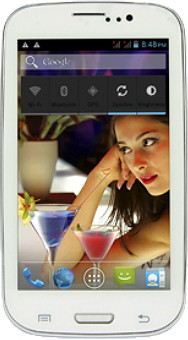 Swipe Fablet F3 Tablet White, 4 GB, Wi-Fi, 3G