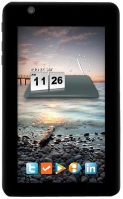 HCL ME Tablet U1 Black, 4 GB, Wi Fi, 3G with USB Modem available at Flipkart for Rs.3999