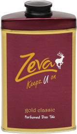 Zeva Keepz U On Gold Talc-100g