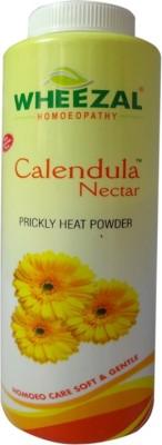 Wheezal Talcum Powder Wheezal Calendula Nectar Prickly Heat Powder