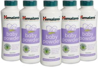 Himalaya Herbal Baby Powder 100gm(Pack Of 5) (500 G)