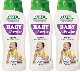 SSCPL Herbals Baby Powder 100gms (Pack of 3)