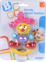 B Kids Bendy Clown Teether Plain