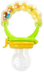 Deals4Ever Teethers & Soothers Deals4Ever Fruit Pacifier for Infants and Babies with Inbuilt Rattle None