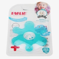 Farlin Farlin Educational Smiley Teethers Teether (Blue)