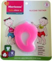 Baby Dreams SiliconeTeethers-Mango-Pac-3 - Pink