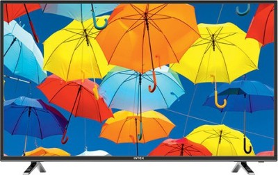 Intex 109cm (43) Full HD LED TV (2 X HDMI, 2 X USB)