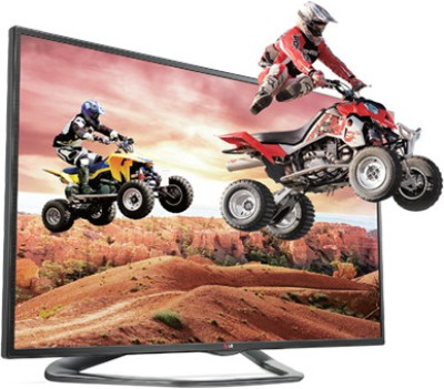 LG 47LA6200 47 inches LED TV Full HD, 3D, Smart available at Flipkart for Rs.85850