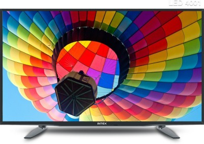 Intex 98cm (39) HD Ready LED TV (2 X HDMI, 2 X USB)