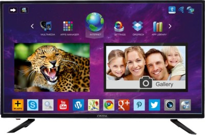 Onida 109cm (43) Full HD Smart LED TV (LEO43FIAB2, 2 x HDMI, 3 x USB)