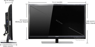 Sansui 81cm (32) HD Ready LED TV (1 X HDMI, 1 X USB)