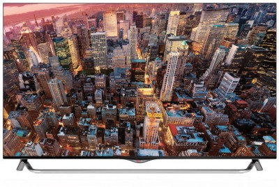 LG 139cm (55) Ultra HD (4K) 3D, Smart LED TV (4 X HDMI, 3 X USB)