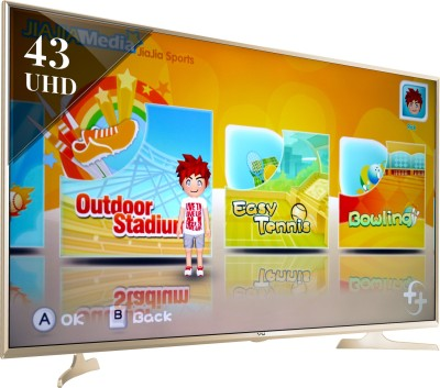 Vu 109cm (43) Ultra HD (4K) Smart LED TV (3 X HDMI, 3 X USB)
