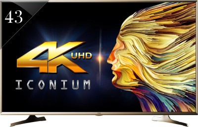 Vu 109cm (43) Ultra HD (4K) Smart LED TV