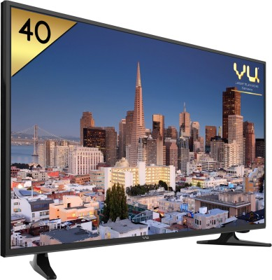 Vu 102cm (40) Full HD LED TV (2 X HDMI, 1 X USB)
