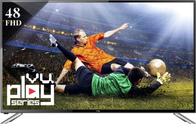 Vu 122cm (48) Full HD Smart LED TV (3 X HDMI, 3 X USB)
