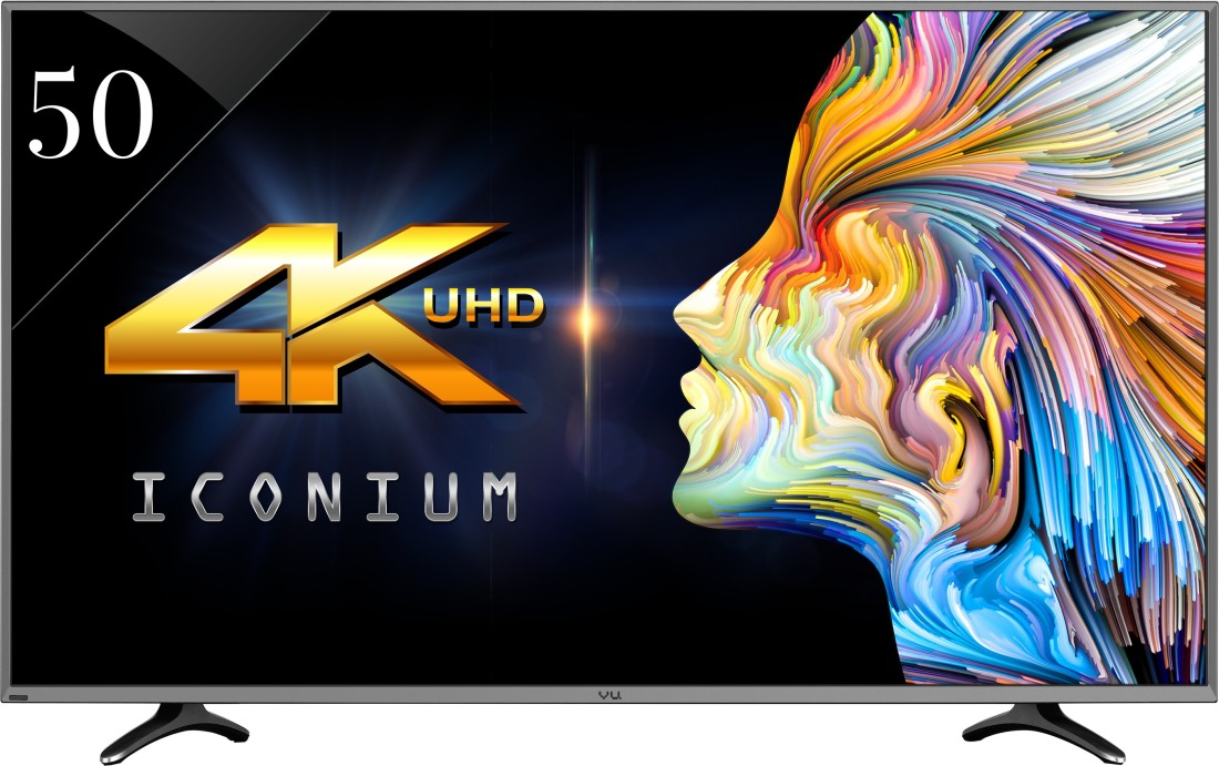 Vu LEDN50K310X3D 50 Inch Ultra HD 4K Smart LED TV