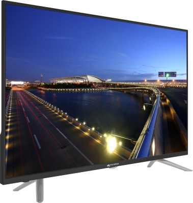 Micromax 81cm (32) HD Ready LED TV (2 X HDMI, 2 X USB)