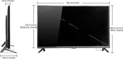 LG 106cm (42) Full HD 3D LED TV (2 X HDMI, 1 X USB)