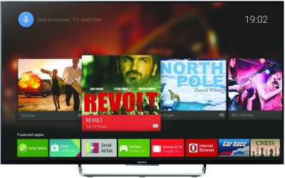 Sony BRAVIA KDL-43W800C 108cm (43) Full HD 3D LED Android TV (4 X HDMI, 2 X USB)