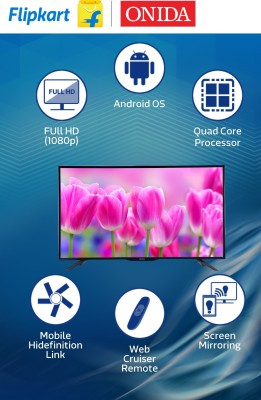 Onida 123.19cm (48.5) Full HD Smart LED TV (3 X HDMI, 3 X USB)